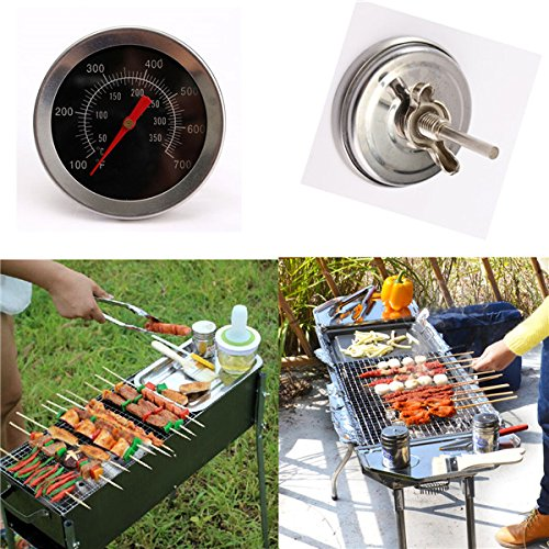Thermometer Instruments Stainless steel BBQ Accessories Grill Meat Temperature Dial Gauge Gage Cooking Food Probe Kitchen Tools Dial Stainless Steel Meat Thermometer