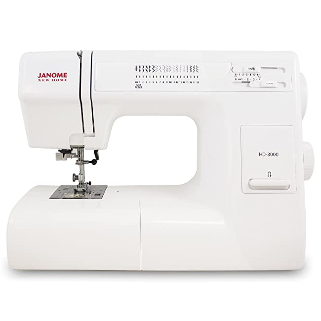 Best Sewing Machine For Heavy Fabrics: Janome HD3000 Review