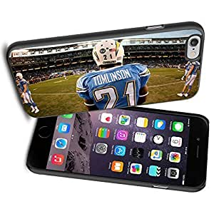 American Football NFL TOMLINSON 21 San diego chargers , Cool iPhone 6 Case Cover Collector iPhone TPU Rubber Case Black