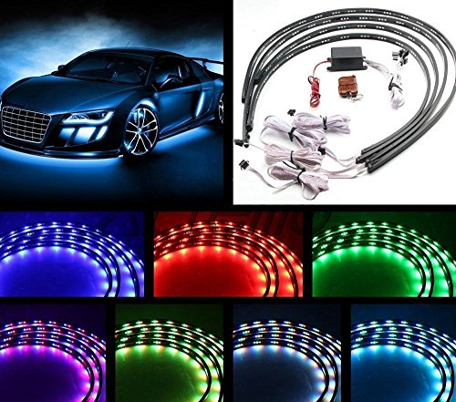 Led Wheel Light Kits - 4