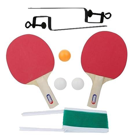 pochers® y la red de tenis de mesa PING PONG raqueta dos lados ...