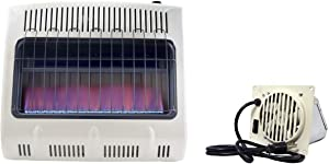 Mr. Heater MHVFB30NGT Vent-Free 30,000 BTU Blue Flame Natural Gas Heater F299201 Vent-Free Blower Accessory Kit (2016 - Present)