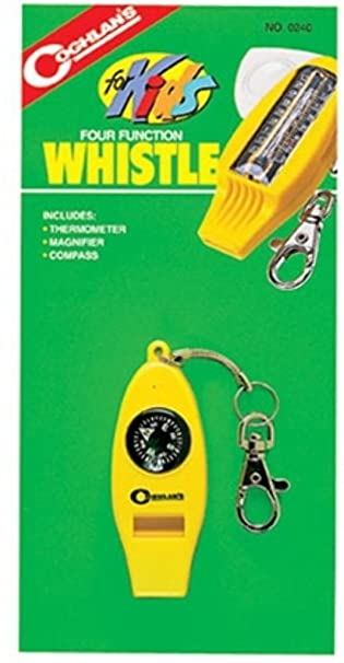 Coghlans 4 Function Whistle For Kids Camping Gear