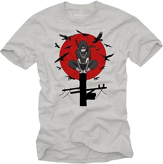 Camiseta Superheroe Hombre - Manga Corta - Itachi - Regalos Frikis: Amazon.es: Ropa y accesorios
