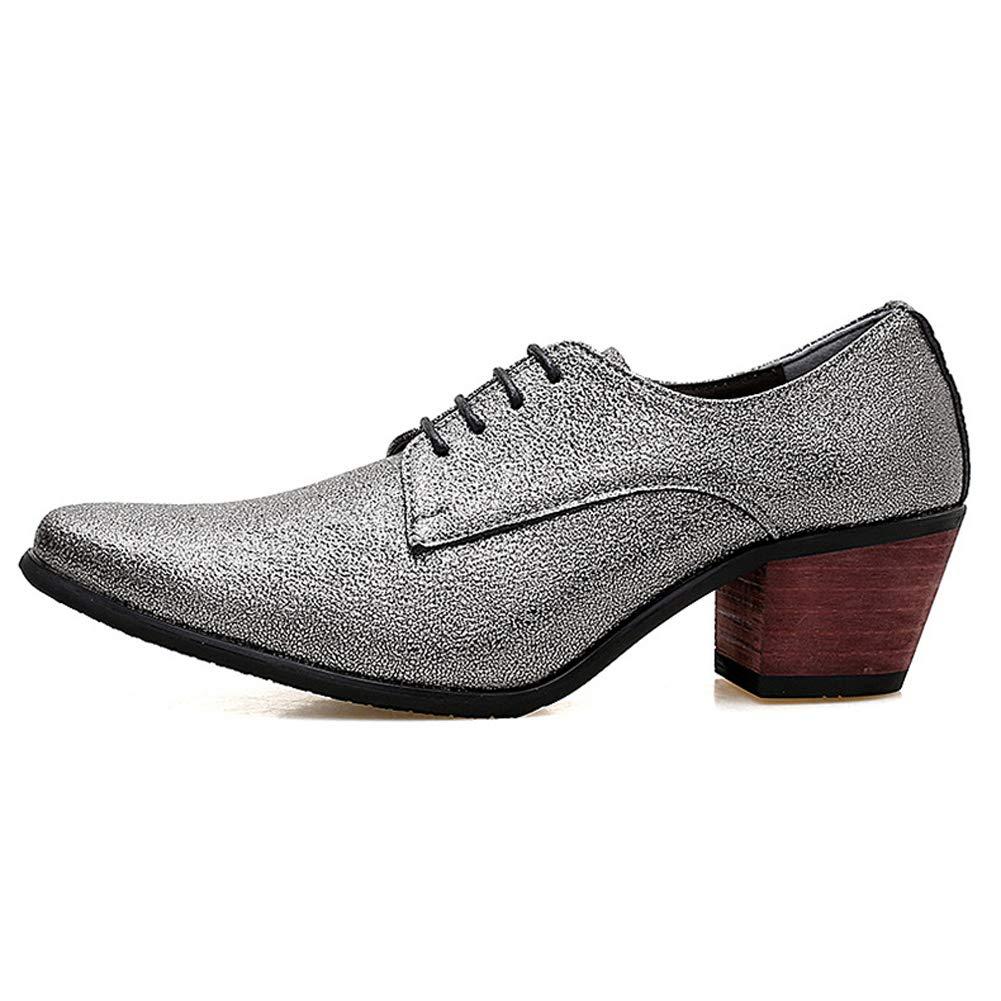 TAZAN Derby City Hombres señaló los Zapatos de Cuero británicos ...