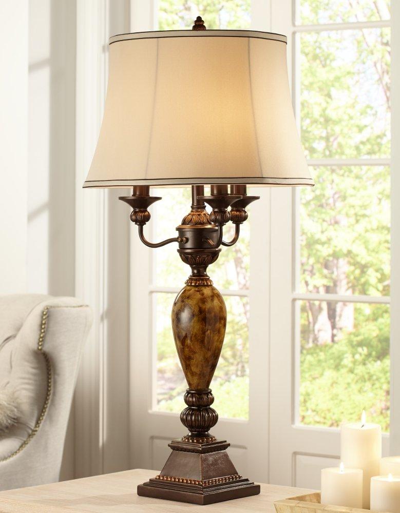 Kathy Ireland Mulholland 6-Way Traditional Table Lamp - - Amazon.com