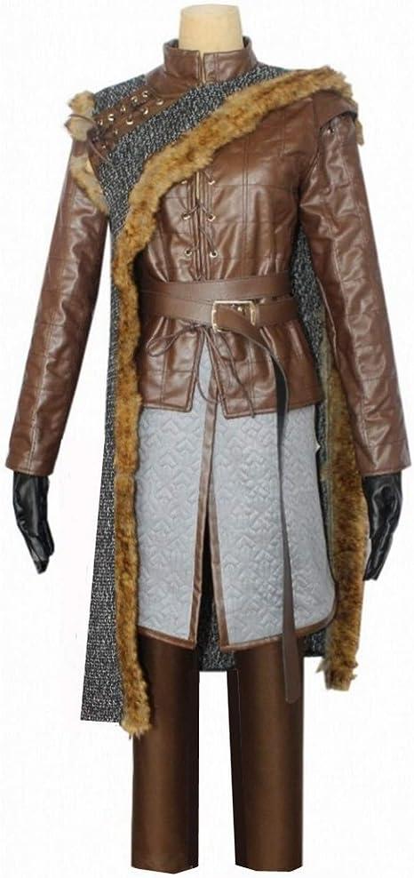 LOTOTLOMCA Juego de Tronos Cos Arya Stark Disfraces de Accesorios ...