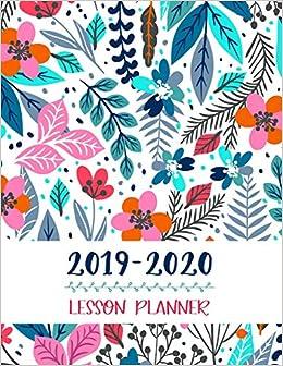 Lesson Planner: Teacher Agenda For Class Organization and ...