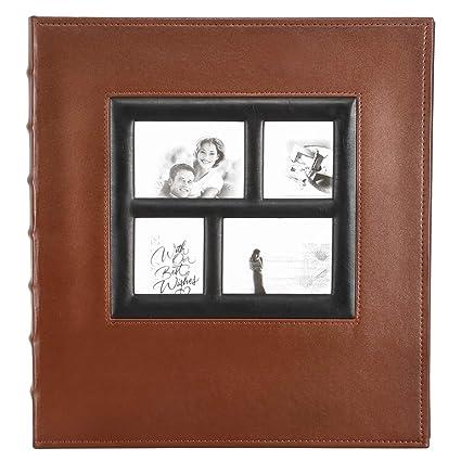 Amazon Com Photo Album 4x6 500 Photos Extra Large Capacity Leather