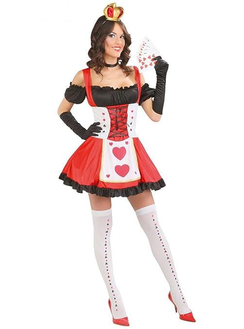 seleziona per genuino vendita usa online vendibile Costume regina delle carte travestimento alice in wonderland ...