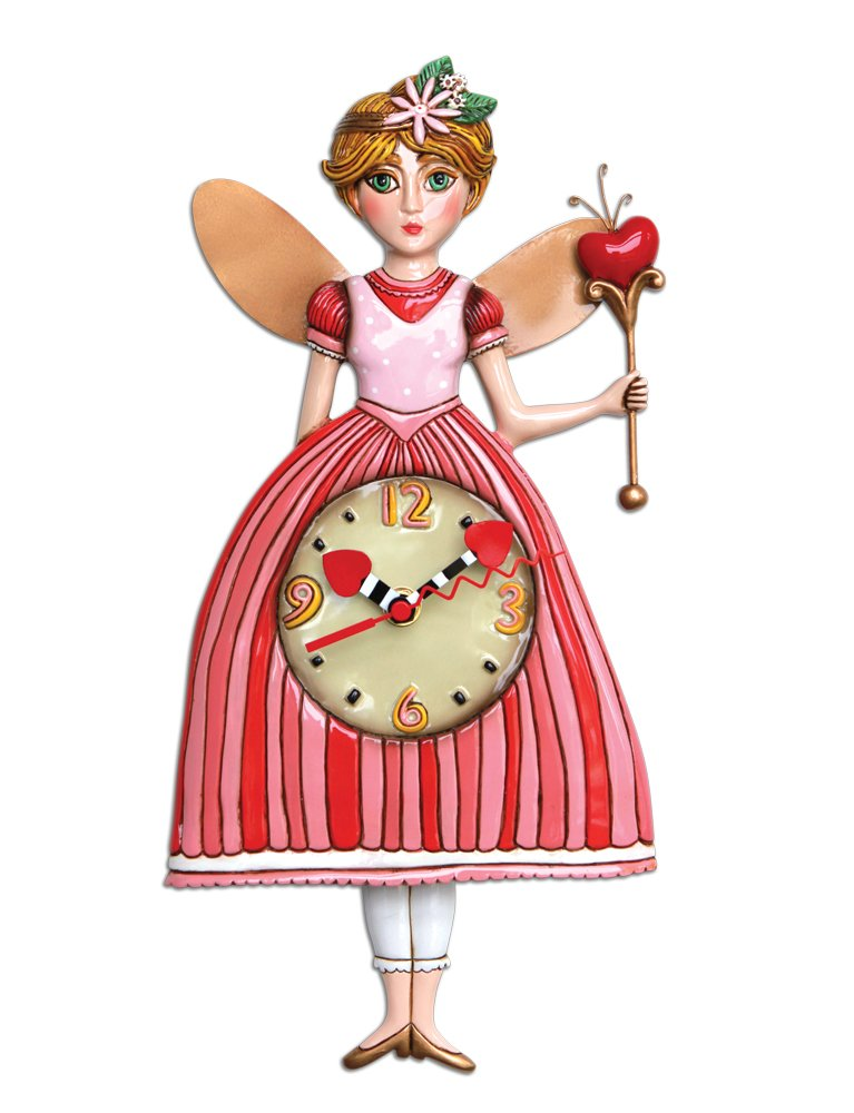 Princess Pixie Pendulum Clock