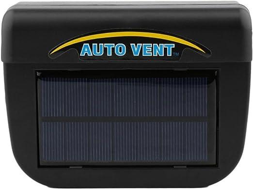 SolarPoweredWindowWindshieldAirVentCoolingFanSystemCoolerfor Toyota