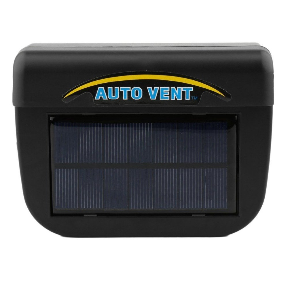 Solar Powered Car Window Windshield Auto Air Vent Cooling Fan Purify Air System Cooler Removes in the Unusual Smell and the Fetid Odor