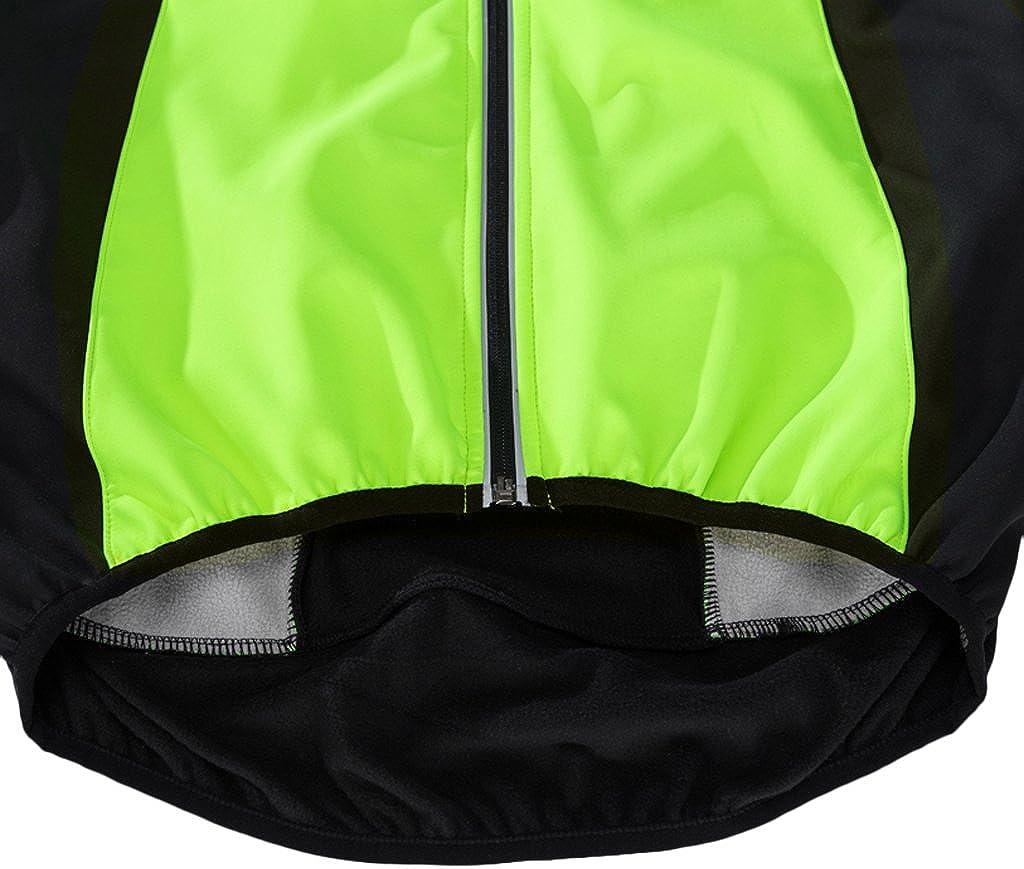 Toygogo Radjacke Wasserdicht Atmungsaktiv Fahrradtrikot Radtrikot Langarm Fahrradjacke MTB Rennrad Radsport Jacke