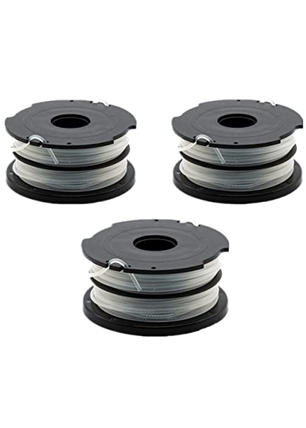 Black and Decker Bump Cap Kit with 3 pack Trimmer Spools for DF-080