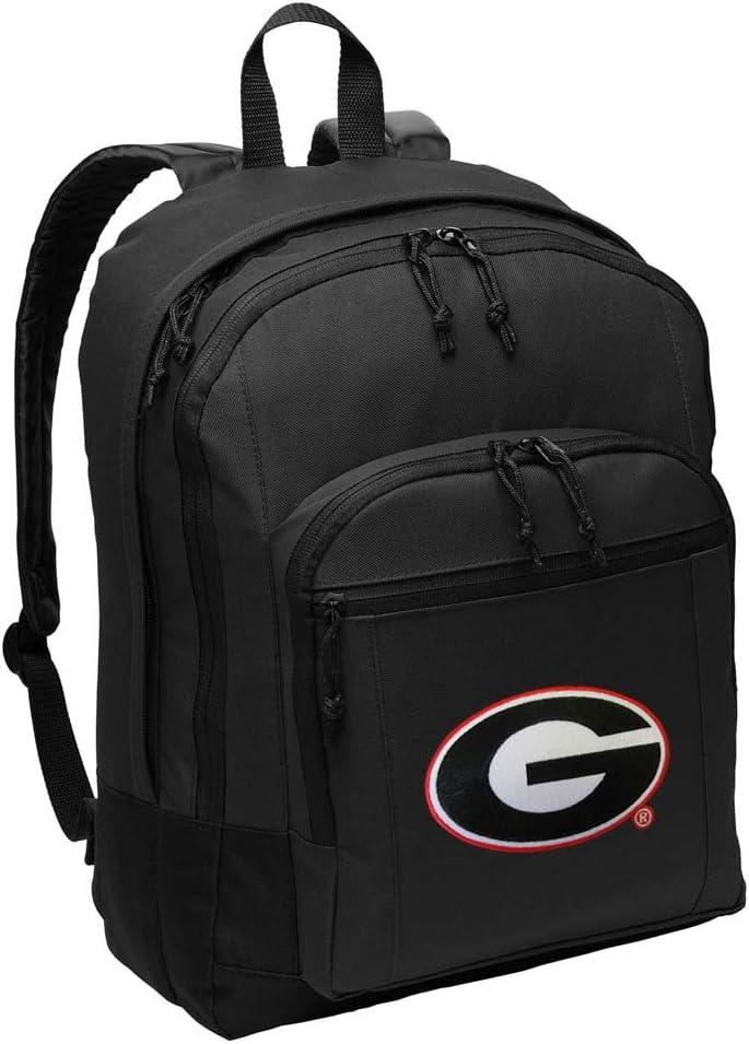 University of Georgia Backpack CLASSIC STYLE Georgia Bulldogs Backpack Laptop Sleeve