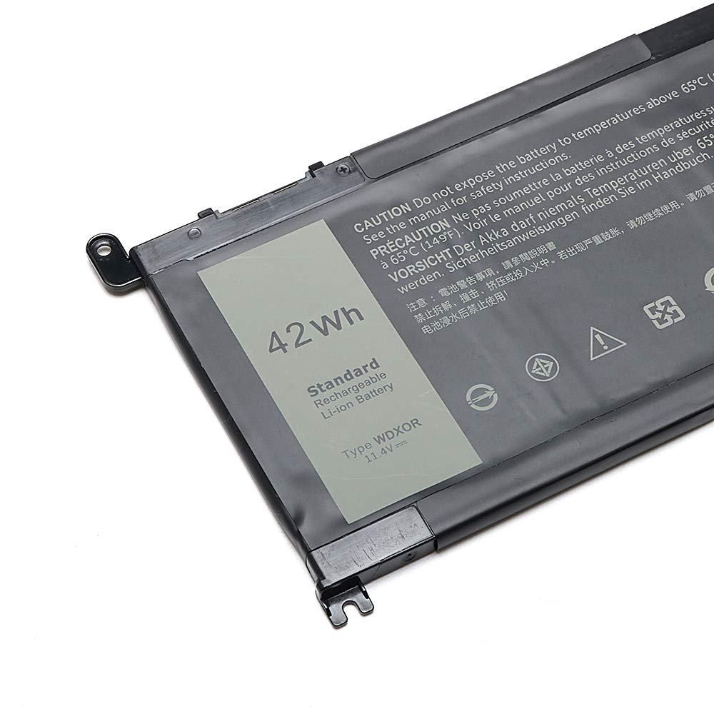 New WDX0R Laptop Battery for dell Inspiron 15 5565 5567 5568 5578 7560 7570 7579 7569 13 5368 5378 7368 7378 17 5765 5767 5770 Series Notebook Battery Fits 3CRH3 T2JX4 FC92N CYMGM -12 Months Warranty by IEFUU (Image #4)