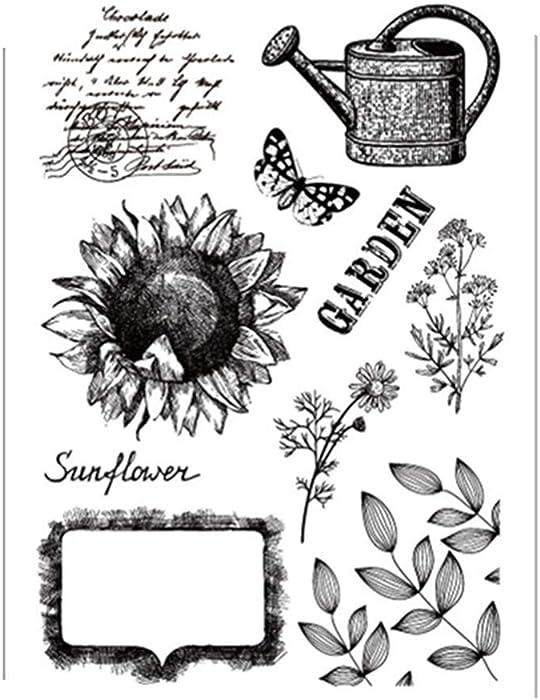 Top 10 Rubber Garden Stamp