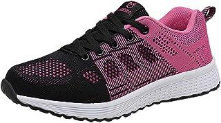 Baskets Souples et Respirantes Chaussures de Plein air pour Femmes en Maille, Chaussures de Sport Tout-Aller, par HUYURI