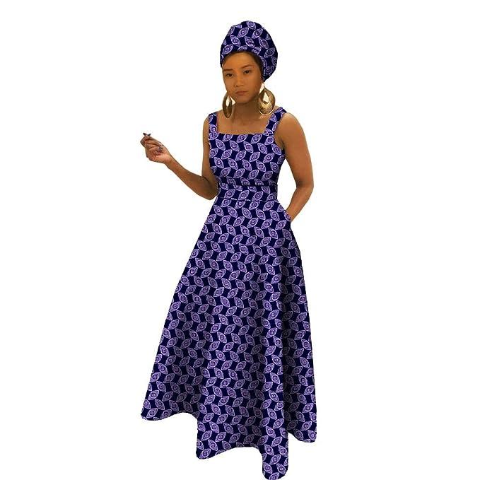 Amazon.com: Vestidos africanos privados personalizados para ...