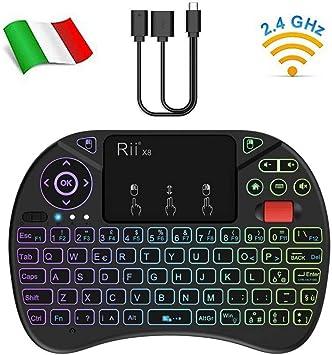 Rii Mini X8 Wireless + Cable OTG F1: Amazon.es: Electrónica