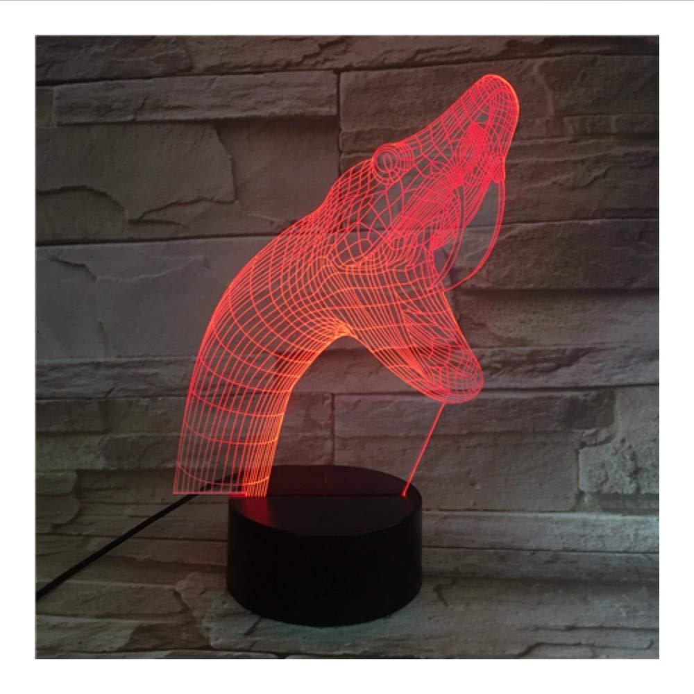 Wmbz Serpiente Serpiente Serpiente 3D Acrílico Noche Luz Usb Sleep Light Fixture 3Aa Batería Potencia Lámpara De Mesa Dormitorio Decoración   Regalo 0a98b8