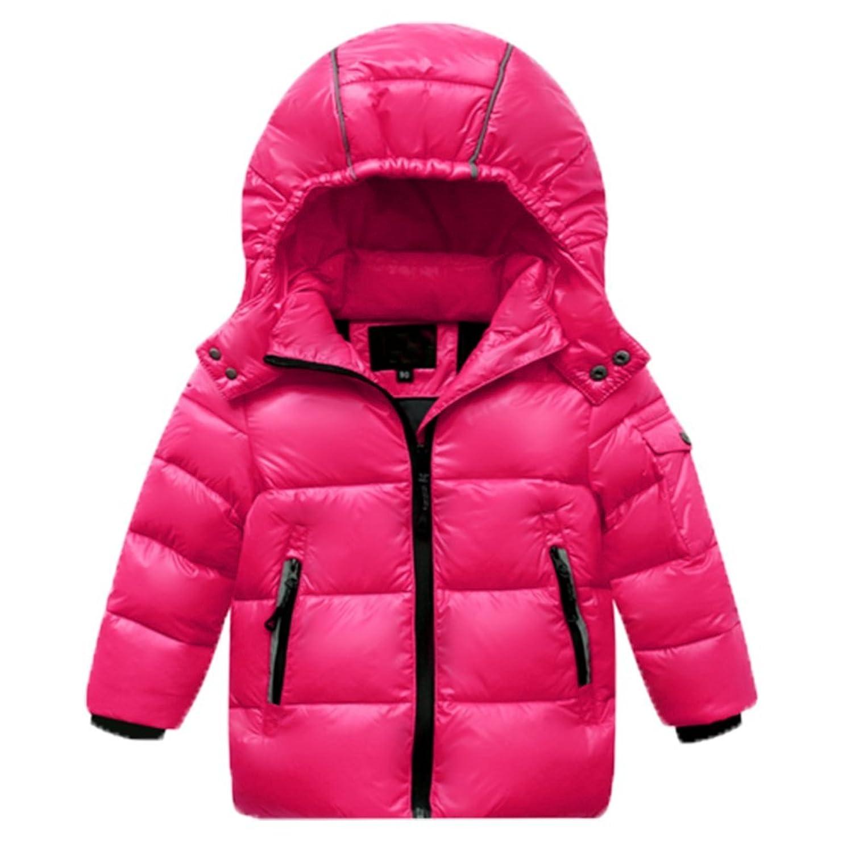 OPSUN Unisexe Enfant Garçon Fille Veste d'hiver Manteau Doudoune Pardessus 110cm