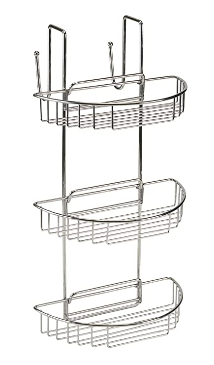Delicieux BC Non Rust Over Door Stainless Steel 3 Tier Shower Caddy Organiser Shelf  Rack