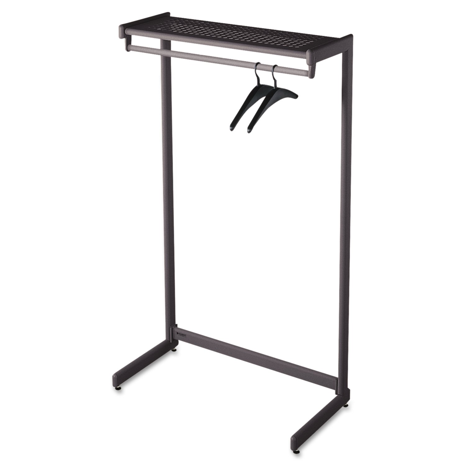 amazoncom  quartet twoshelf garment rack freestanding  inch  - amazoncom  quartet twoshelf garment rack freestanding  inch black hangers included ()  quartet coat rack  office products