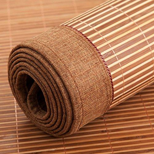 Ren Chang Jia Shi Pin Firm Bamboo mat bamboo cushion mat folding mat sofa cushion summer mat family dormitory mat tatami hotel mat soft comfortable mat mattress yoga mat by Ren Chang Jia Shi Pin Firm (Image #2)