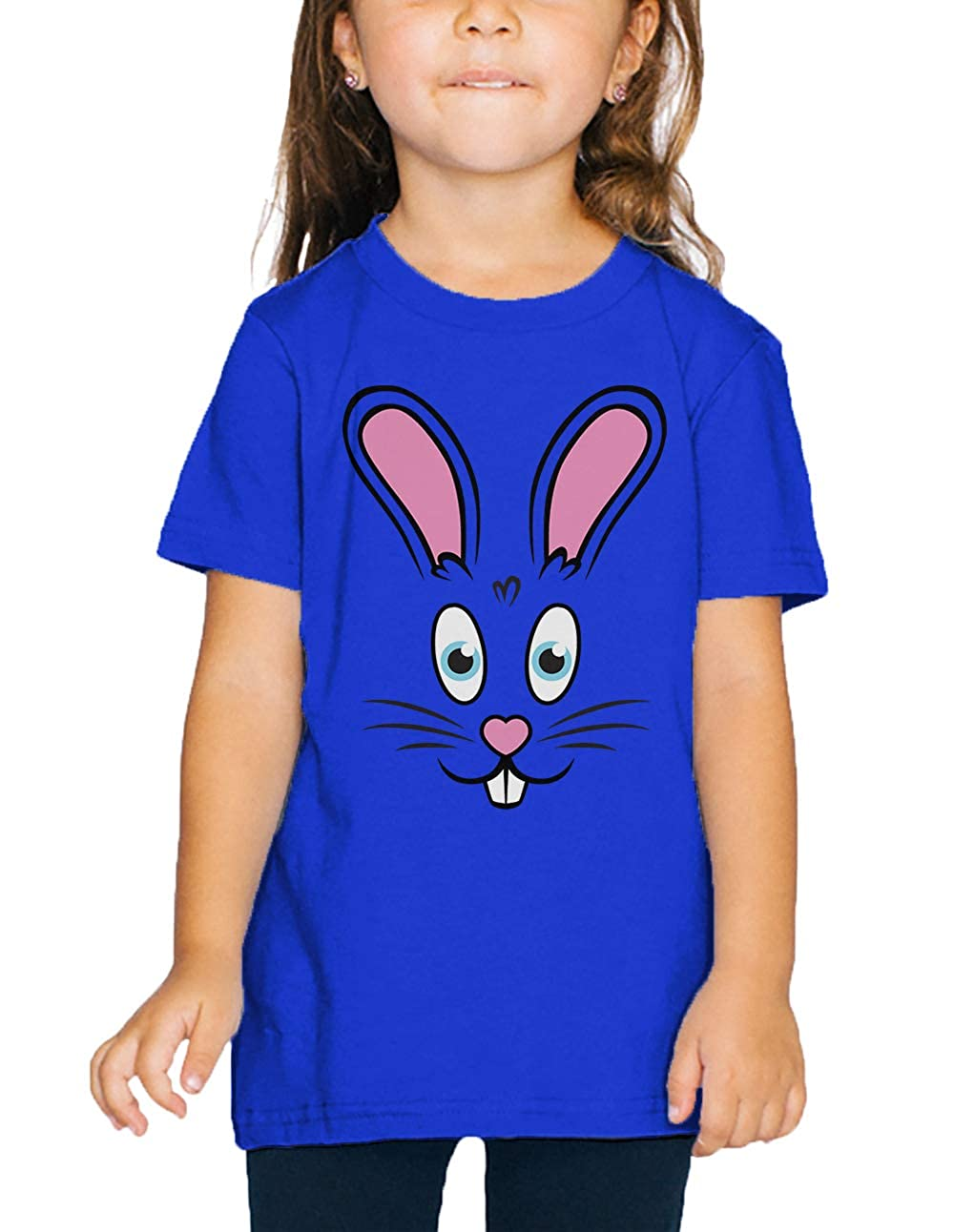 SpiritForged Apparel Easter Bunny Rabbit Face Toddler T-Shirt