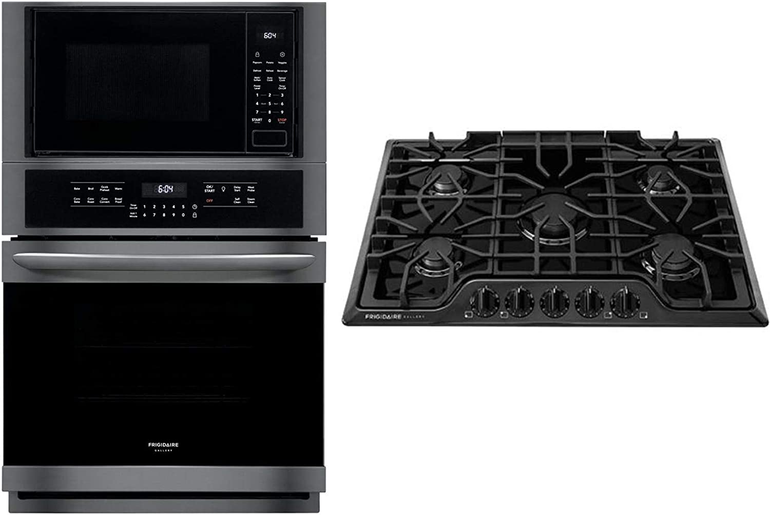 Frigidaire FGMC2765PF FGMC2765PF-Gallery 27 Stainless Steel Electric Combination Wall Oven-Convection