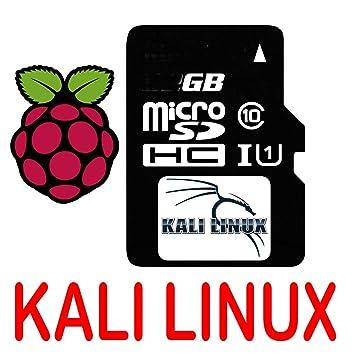 Amazon.com: Kali Linux OS Sistema de Operación MicroSD ...