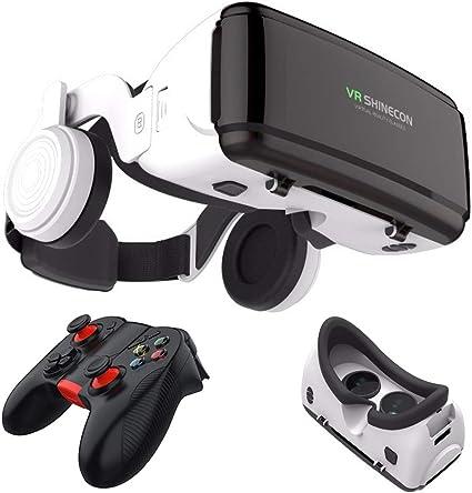 Casco de cartón 3D Realidad Virtual VR Gafas Headset Stereo, para ...