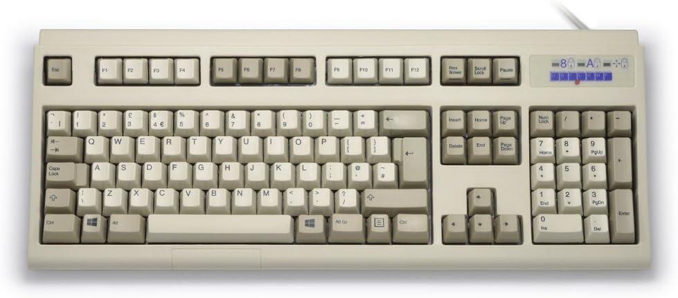 Other Ultra Classic IBM Style Keyboard, Beige USB, [Importado de UK]