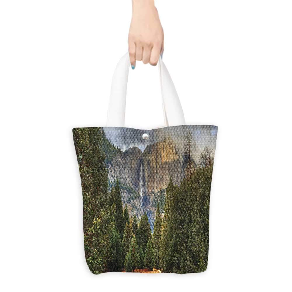 38e055cd5fb7 Amazon.com: Eco-Friendly Canvas bags Yosemite Falls with Evergreen ...