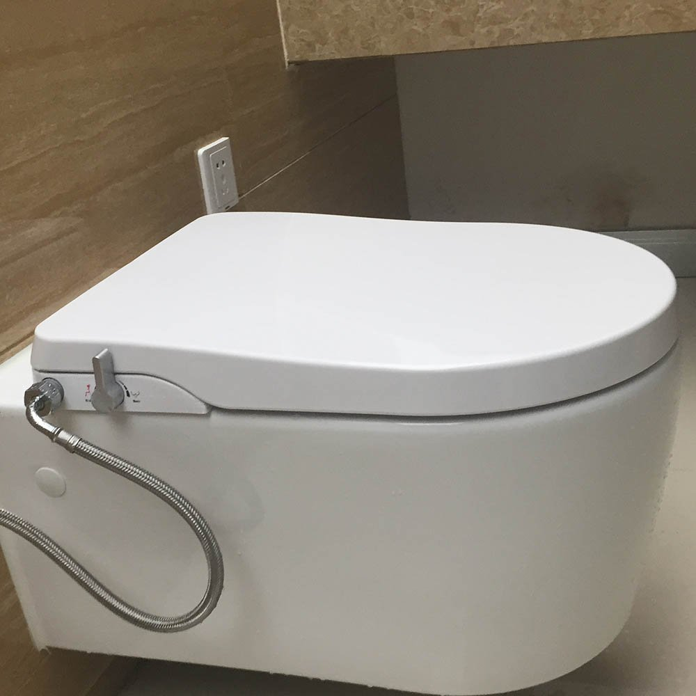 Hibbent Non Electric Bidet Toilet Seats - No Electricity Bathroom ...