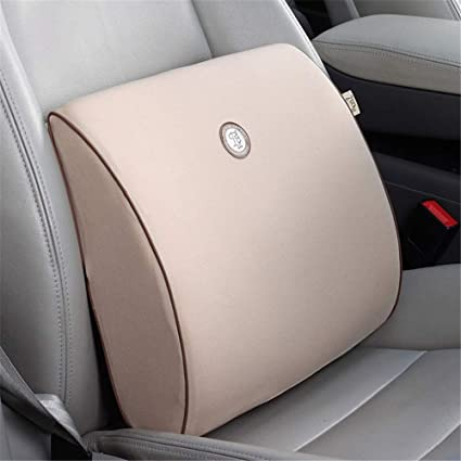 Almohada lumbar coche Cojín del asiento Comodidad Bambú ...