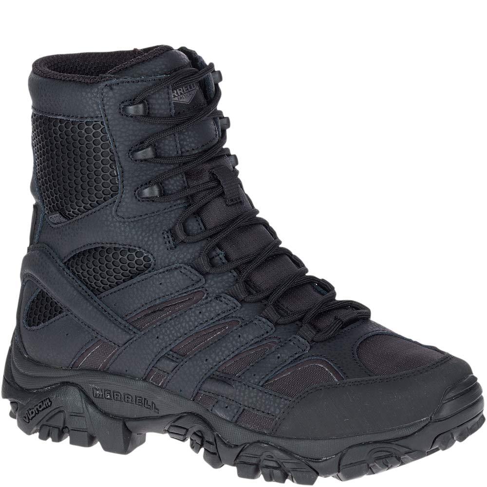 Merrell Moab 2 8'' Tactical Waterproof Boot Men 10.5 Black by Merrell