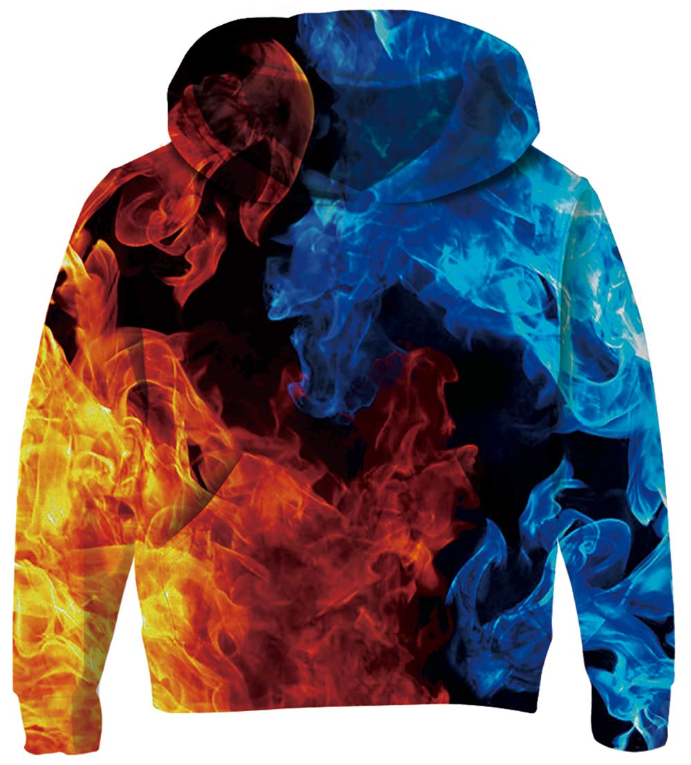 The colors on this hoodie is amazing!
