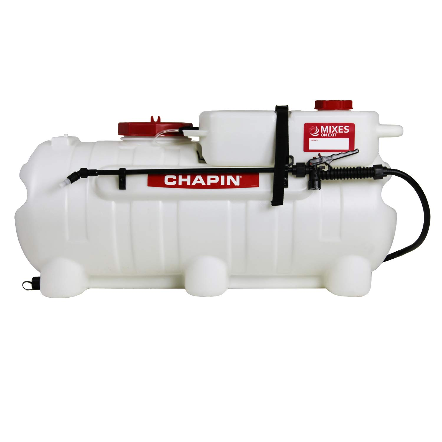 Chapin International 97561 Chapin Presents The First-Ever Clean-Tank ATV Spraying System, 25 Gallon Sprayer, Translucent