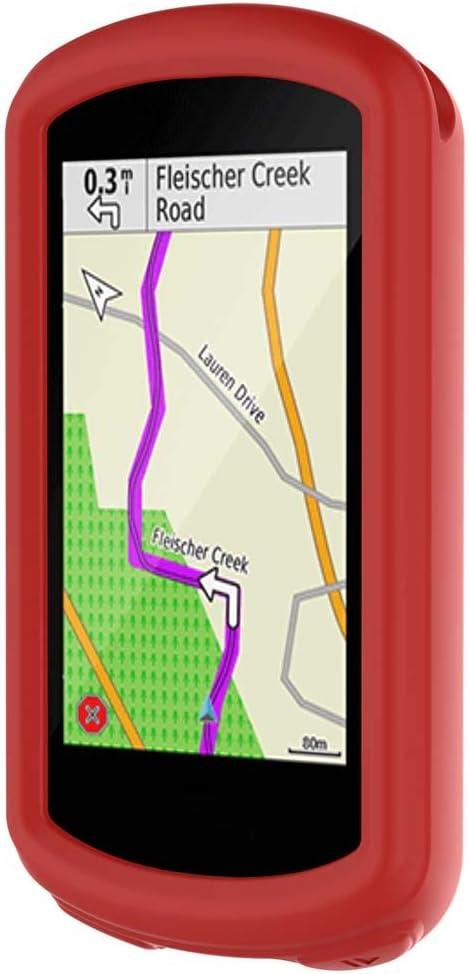 Erm/öglichen des Zugriffs auf alle Ports und Funktionen Mikiya Silikon Schutzh/ülle f/ür Garmin Edge 1030 GPS Robuste h/ülle Garmin Edge 1030 schutzh/ülle