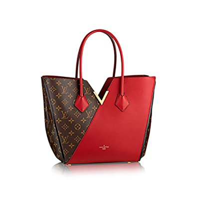 d1c0971a3013 Authentic Louis Vuitton Kimono Tote Monogram Canvas Handbag Article  M40459  Cherry Made in France  Handbags  Amazon.com