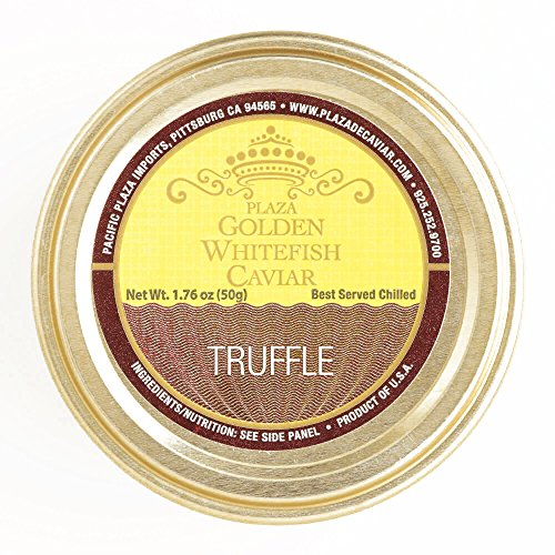 Pacific Truffle Golden Whitefish Caviar (1 Item Per Order, not per case) (Caviar Golden Whitefish)