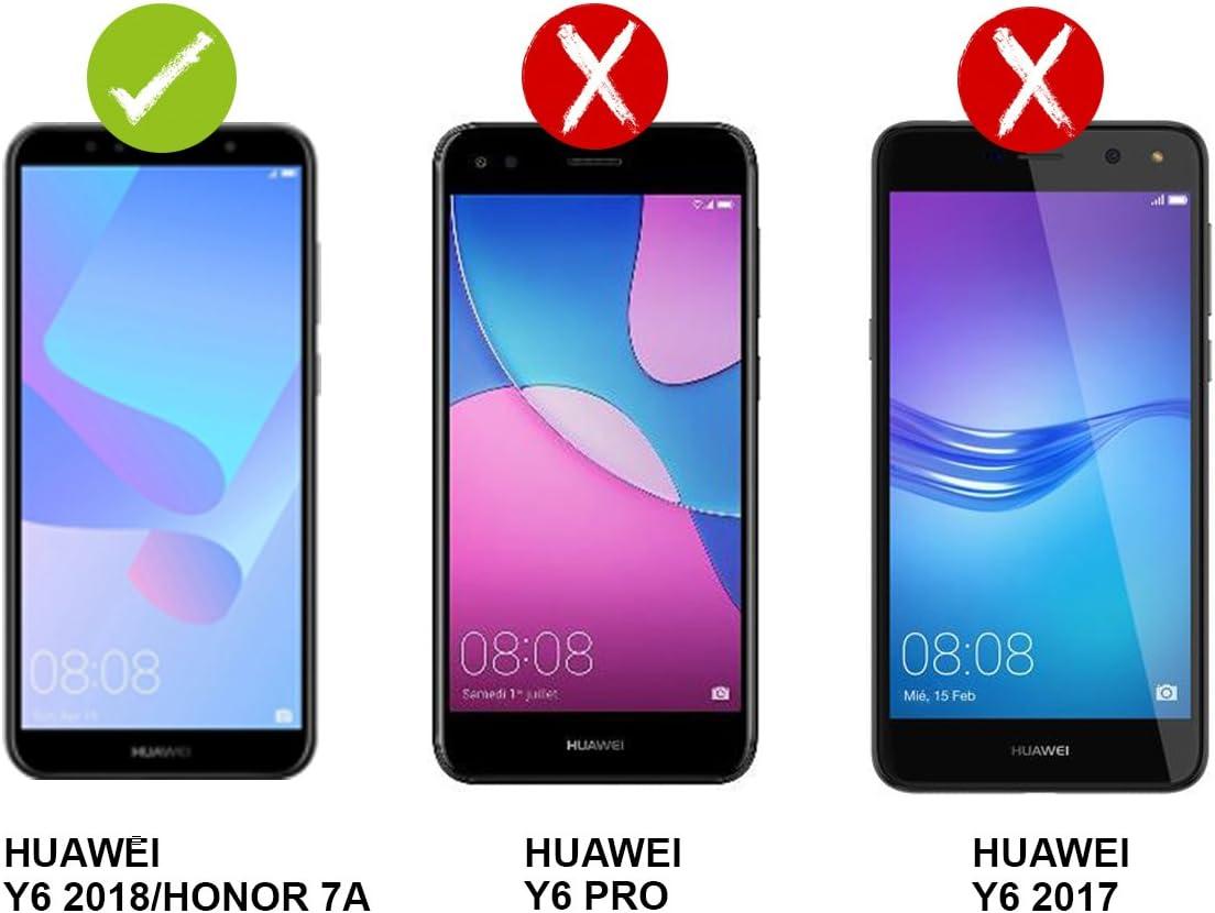 PLANETMOVIL [ Huawei Y6 2018 // Honor 7A ] Funda Carcasa Doble ...