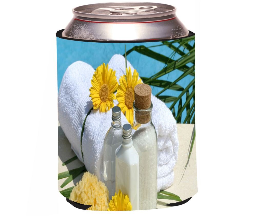 Rikki Knight Day at The Spa Design Beer Can Soda Drinks Cooler
