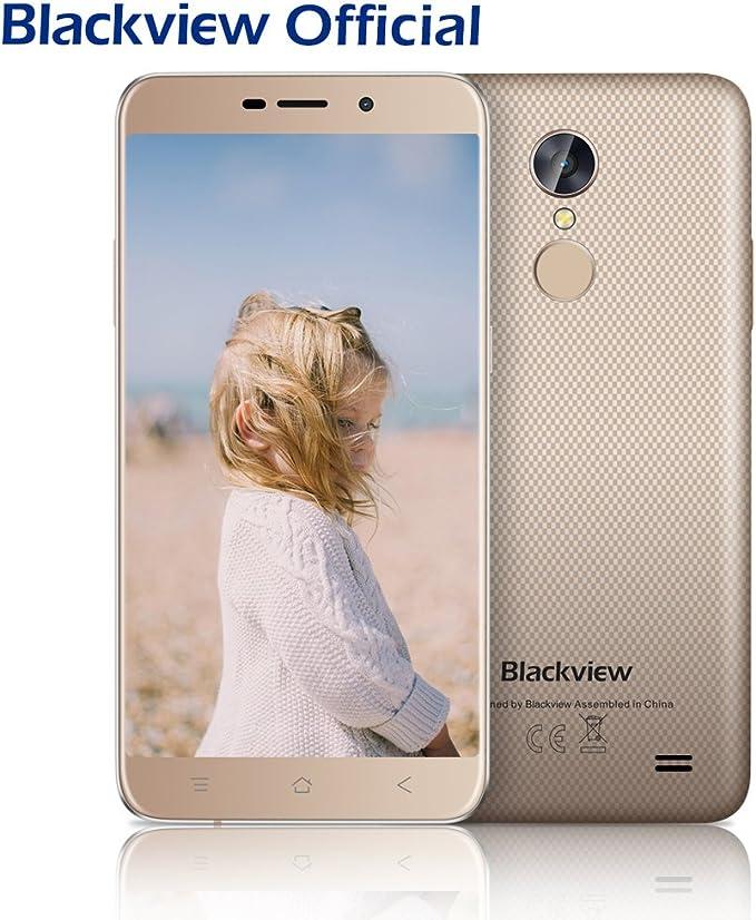 Blackview Smartphone Libres, A10 5.0 Pulgadas Moviles Libres 2GB + ...