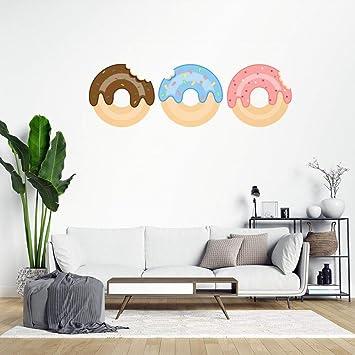 Amazon Com Donuts Wall Sticker Wall Decal Saying Family Room Wall Art Decor For Boys Room Kids Bedroom Living Room Lvlrxqxdwyrt Baby