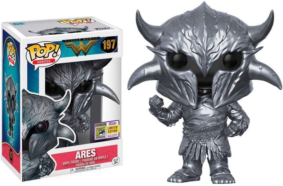 Figura Pop DC Wonder Woman Movie Ares Summer Convention 2017 Exclusive