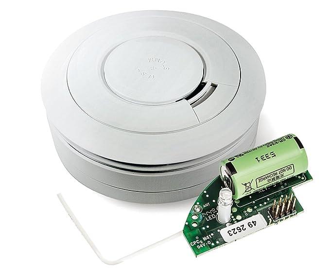 Ei Electronics Ei650RF-3XD detectores de humo inalámbricos incl. 10 Jahres-Batterie, vernetzbar batteriebetrieb: Amazon.es: Electrónica